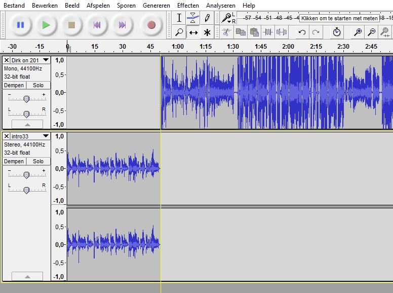 Podcast productie - Slepen